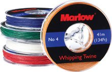 Marlow Ropes Nr. 4 Takelgarn, farbig, rot -