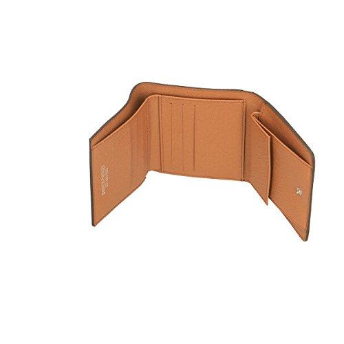 Chicca Borse Portafogli in pelle 12x10x3 100% Genuine Leather Cuoio
