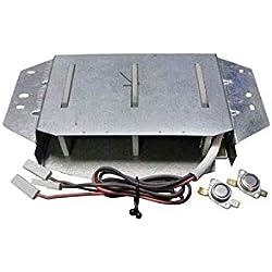 Resistance 1200w +1200w Sl + Thermostats Pour SECHE LINGE BRANDT