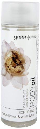 Greenland, olio puro di semi di cotone e fiori di loto bianchi; confezione da 150 ml (etichetta in lingua italiana non garantita)