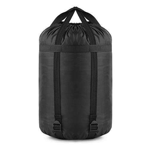 OUTAD Sacs de Rangement imperméables à l'eau pour vêtements de Compression Couettes Literie Oreillers Rideaux Sac de Rangement Sac de Transport Noir