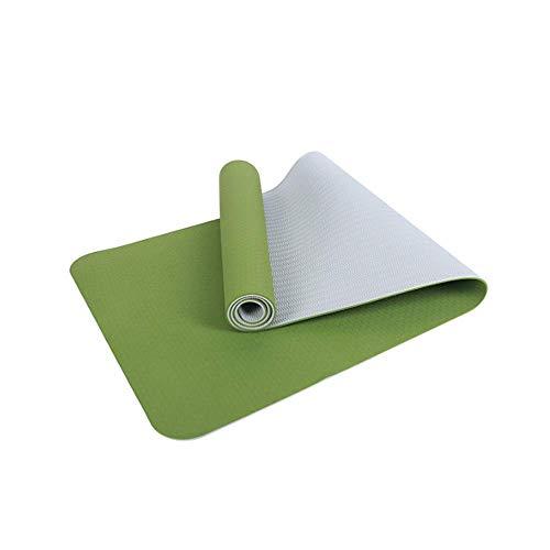 GSKTY Estera de Yoga TPE Grueso 7 mm Body Line impresión Estera de Yoga Deportes al Aire Libre Antideslizante Gimnasio Estera 185 * 61 * 0.7CM