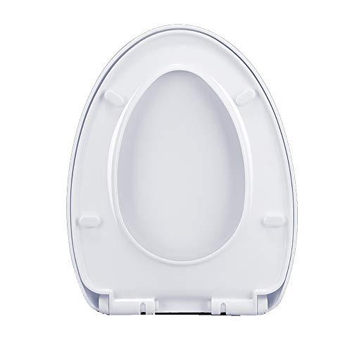 Arayacy coperchio wc bianco, chiusura morbida, cerniera regolabile, sgancio rapido, coperchio wc di alta qualità, bagno, uso domestico,b