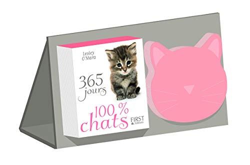 365 jours 100% Chat - Almanach + bloc-notes