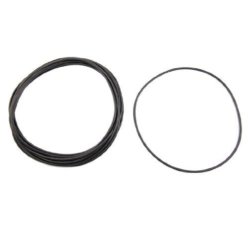 sourcingmap-10-pezzi-neri-di-gomma-nitrile-o-ring-contenente-radio-shack-chiusura-adesiva-149-millim