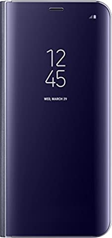 Samsung Clear View Standing Case for Galaxy S8 Plus - Violet