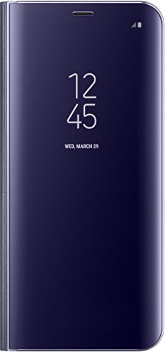Samsung Clear View Standing, Copertina per Samsung S8 Plus, Viola (Purple)