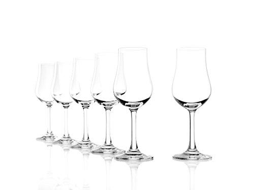 Stölzle Lausitz Destillatglas Classic 185ml, 6er Set Whiskeyglas, spülmaschinenfest, hochwertige Qualität