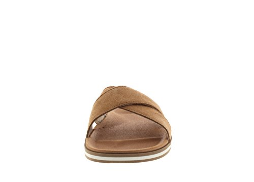 Ugg Chaussures Beach Sandales Tongues Marron Homme Noisette