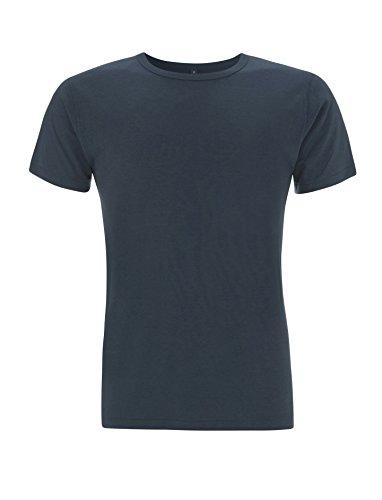 T-Shirt aus Bambusfaser und Bio-Baumwolle: XL, Denim