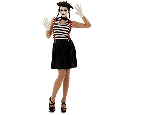 Imagen de my other me  disfraz de mimo mujer, m l viving costumes 200566