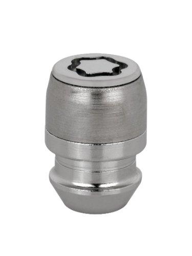 24152SL Radsicherungsmuttern SL (Ultra High Security)\nM12x.1.25, Kegelsitz, Gesamtlänge 32,5mm, SW19, Schlüsseldurchmesser 28,8 mm