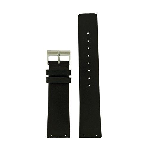 Skagen Uhrband Wechselarmband LB-233XXLSLB Original Ersatzband 233XXLSLB Uhrenarmband Leder 22 mm Sc