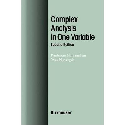 [ { Complex Analysis in One Variable (2001) } ] BY ( Author ) Dec-2000 [ Hardcover ]