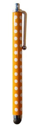 Neue Qualität POLKA DOT Posh Gold-SPOT Neue Qualität Tupfen Stylus für iPad, iPhone 5, 5S, 5C, Smartphone, S4 I9499, für alle iPads, iPhones, iPods, Samsung, Blackburry und alle Smartphones und