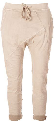 Basic.de Boyfriend-Hose im Joggpant Style Melly & CO 8175 Beige S