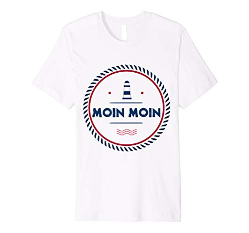 Norddeutschland plattdeutsch Hamburg Spruch Moin Moin Shirt