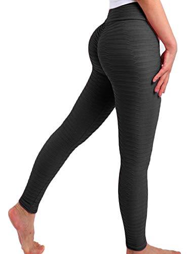 FITTOO Mallas Pantalones Deportivos Leggings Mujer Yoga de Alta Cintura Elásticos y Transpirables para Yoga Running Fitness con Gran Elásticos1490