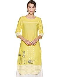 678d4993094 Yellows Women s Kurtas   Kurtis  Buy Yellows Women s Kurtas   Kurtis ...