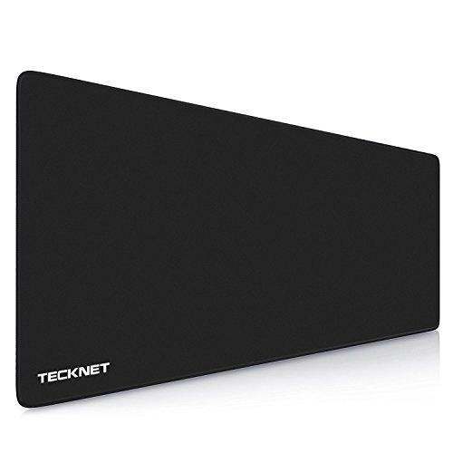 TeckNet XLL Alfombrillas de Ratón Gaming - 900x450x3mm, Base de goma antideslizante, Superfície con textura especial, Compatible con ratón láser y óptico