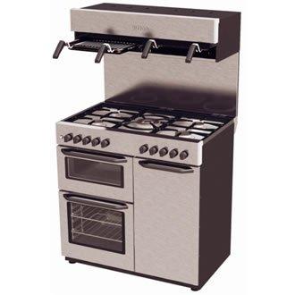 Burco COOKCENTRE90DF (444441809) 5 Burner, Dual Fuel Range