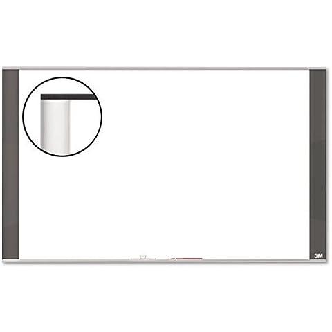 Melamine Dry Erase Board, 36 x 24, White, Graphite Frame, Sold as 1 Each by 3M