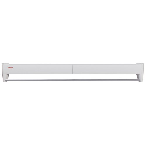 Leifheit Telegant 81 Protect Plus - Tendedero de pared de metal, 10.5x101.5x6 cm, color blanco