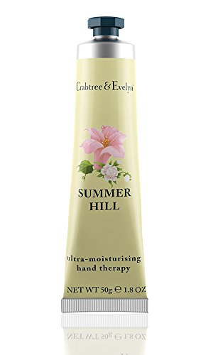 Crabtree & Evelyn Summer Hill ultra-moisturizing hand therapy, 1er Pack (1 x 50 g) -