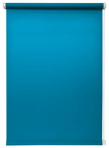 Rollo lichtdurchlässig in vielen Farben und Größen Klemmfix ohne Bohren Fensterrollo für kleine und große Fenster...