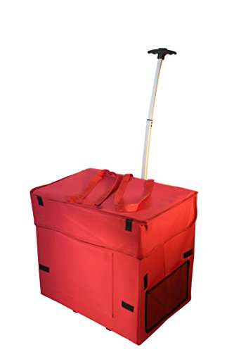 wide-load-smart-cart-red-rolling-multipurpose-collapsible-basket-cart-scrapbooking-laundry