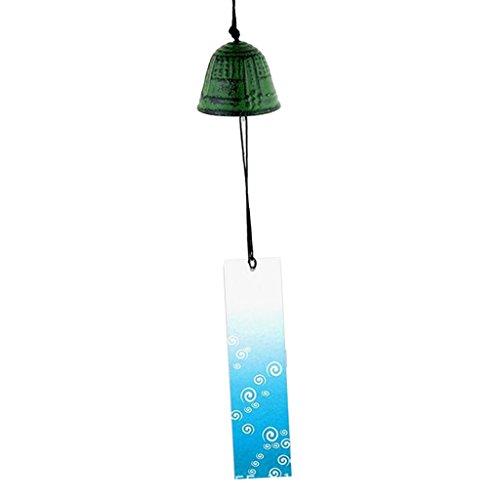 Einzigartige Windspiel Glas Glocke Garten Japan Dekoration Ornament