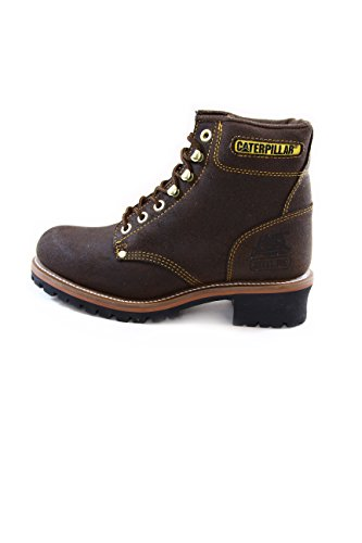 Caterpillar Logger 6 suede boots Chocolate