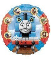 Single Source Party Supplies - 18' Thomas the Tank (Train) Engine & Friends Mylar Foil Balloon by Single Source Party Supplies