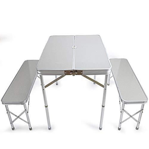 Vimele Tisch im Freien Klapptisch und Stühle Tisch und Stuhl Set Esstisch Grill Tisch...