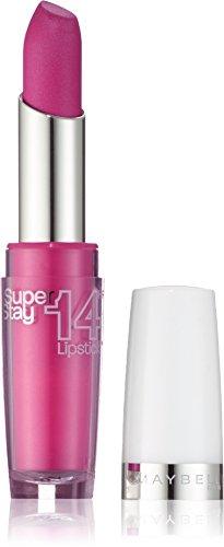 Maybelline New York Make-Up Lippenstift Superstay 14h Lipstick Infinitely Fuchsia / Glitzerndes Pink mit 14 Stunden Halt, 1 x 3,5 g