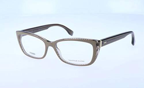Fendi Damen FF 0003 7PE/16-52-16-140 Brillengestelle, Braun, 52