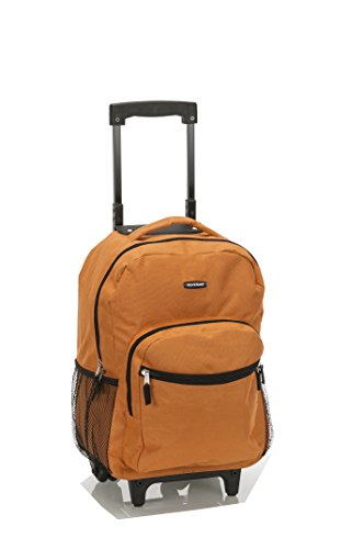 rockland-luggage-17-inch-rolling-backpack-orange-one-size