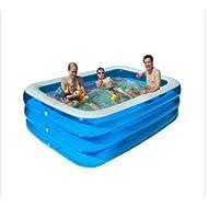 LIVY Verdickung erhöht drei-Schleife rechteckige aufblasbare Badewanne Badewanne bietet einen großen Swimmingpool aufblasbarer Swimmingpool
