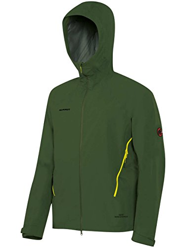 Mammut Ultimate Alpine SO Hooded Jacket Men (Softshell Jackets/Vests), color:seaweed;size:M