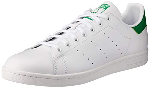 Adidas Adidas Stan Smith M20324, Unisex-Erwachsene Low-top, Weiß (Running White Ftw/running White/fairway), 43 1/3 EU (9 UK)
