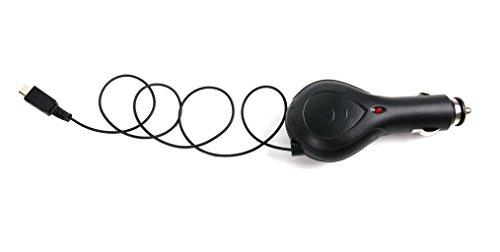 DURAGADGET Für Ihre Braven BRV-Pro Speaker | LUX | BRV-1M Lautsprecher: 5 V 1 Amp aufrollbares Kfz-Ladegerät | Car Charger | Stromversorgung vom Zigarettananzünder im Auto mit Mikro-USB-Anschluss Car Audio Pro 1 Amp