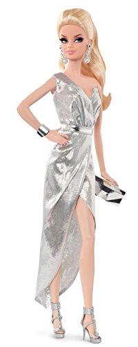 Preisvergleich Produktbild Mattel BCP86 - Barbie auf dem roten Teppich, sortiert-silver dress