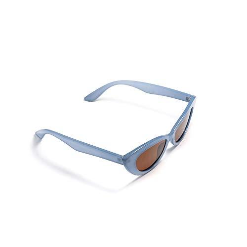 ZJHZJH Sonnenbrille Frauen cat Eye stilvolle Mode Trend Vintage weibliche Sonnenbrille niedlich uv400