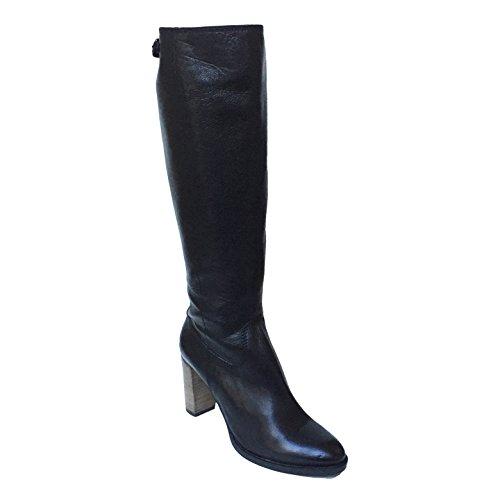 Kennel & Schmenger , Bottes longues femme cuir noir