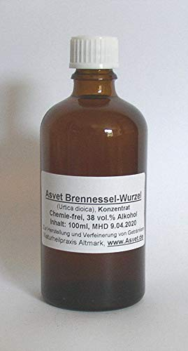 Asvet 50ml Brennessel Wurzel Tropfen Extrakt Brennesselwurzel Konzentrat -