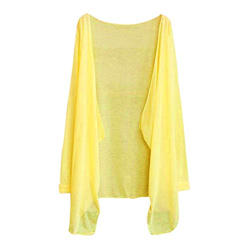 Damen UV Schutz Strickjacke, Selou Sommer Dilly Slim Modal Bekleidung Tops - Womens Guayabera Shirt
