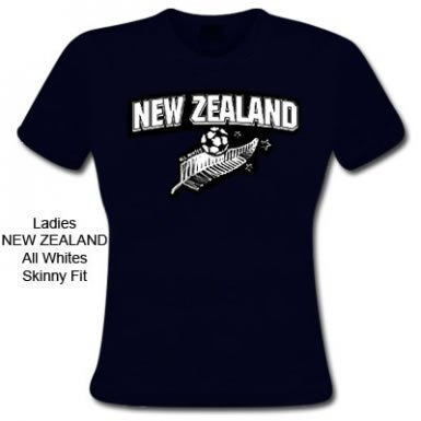 New Zealand Skinny Fit Tee -
