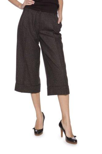 hussein-chalayan-pantalon-3-4-couleur-gris-taille-38
