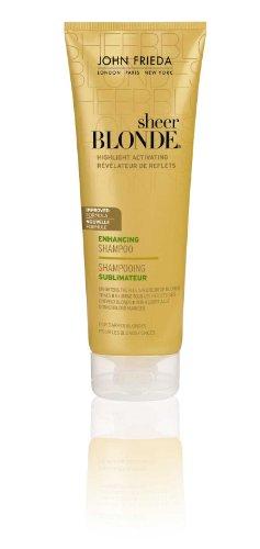 John Frieda Sheer Blonde Highlight Activating Enhancing Shampoo for Darker Blondes 250ml