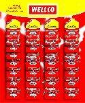 Draht, 30 Amp (Wellco Wellco 5A 15A Sicherung 30A Draht ondisplay Karte (24kleckereien Pakete) Sicherung Draht (Karte der 24) 5Amp 15Amp 30–Ersatzteile)